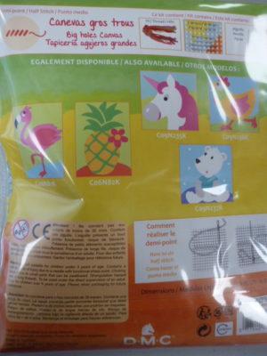 Kit Canevas Gros Trous pour enfants de DMC «La Libellule»