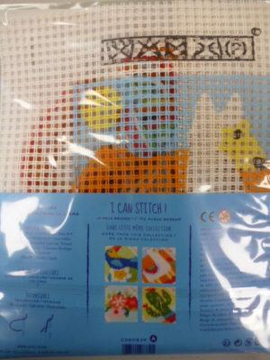 Kit Canevas Gros Trous pour enfants de DMC «Le Lama»