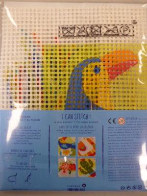 Kit Canevas Gros Trous pour enfants de DMC «Le Toucan»