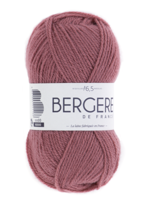 Barisienne de Bergère de France coloris 10572 Bois de Rose
