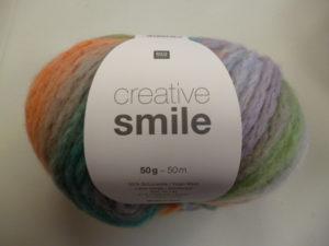 Creative Smile N°001 de Rico Design Coloris Multicolore