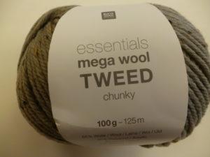 Essentials Mega Wool Tweed chunky N°04 de Rico Design