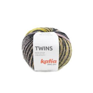 TWINS N°151 de KATIA pelote de 150 g Coloris Multicolore