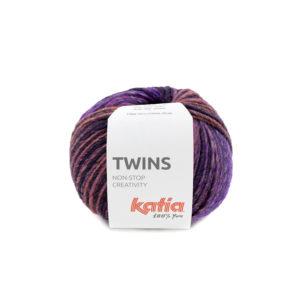 TWINS N°154 de KATIA pelote de 150 g Coloris Multicolore