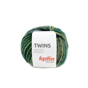 TWINS N°155 de KATIA pelote de 150 g Coloris Multicolore