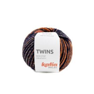 TWINS N°157 de KATIA pelote de 150 g Coloris Multicolore
