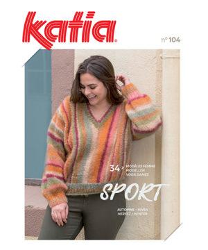 Katia Sport N°104 34 Modèles Automne-Hiver 2020/21