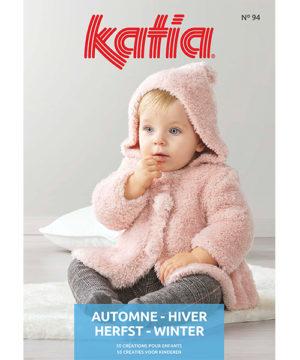 Katia Layette N°94 Automne-Hiver 2020/21 – 50 Créations pour Bébé
