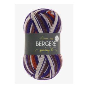Goomy 50 de Bergère de France coloris 10168 Imprim Terre