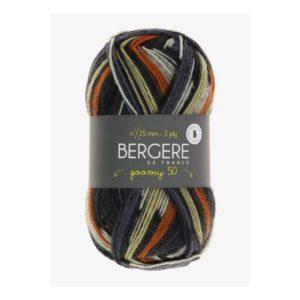 Goomy 50 de Bergère de France coloris 10173 Imprim Acier