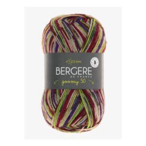 Goomy 50 de Bergère de France coloris 10175 Multi Rose