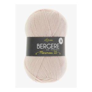 Mérinos 2.5 de Bergère de France coloris 10191 Poudre Bébé