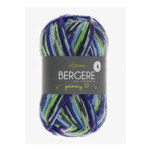 Goomy 50 de Bergère de France coloris 10209 Multi Bleu