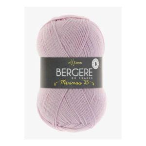 Mérinos 2.5 de Bergère de France coloris 20038 Rose Bébé