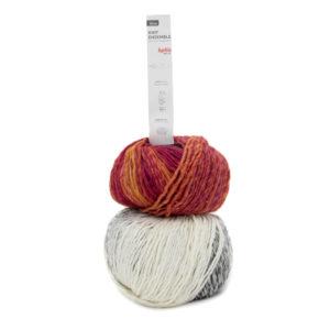 Knit Ensemble N°403 de KATIA Nouveauté 2020/21 1 Bonnet + 1 Snood