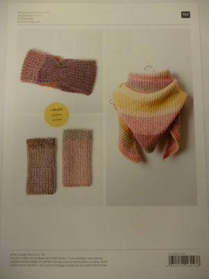 Fiche Modèle à Tricoter avec le fil «Créative Chic Unique» de RICO DESIGN
