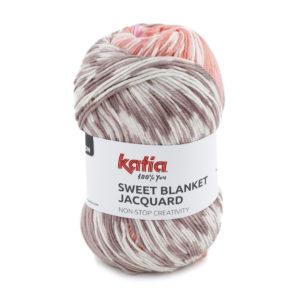 Sweet Blanket Jacquard N°303 de KATIA pelote de 200 g