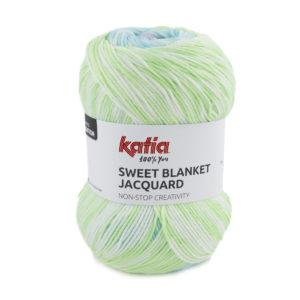 Sweet Blanket Jacquard N°305 de KATIA pelote de 200 g