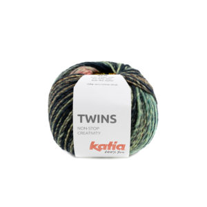 TWINS N°156 de KATIA pelote de 150 g Coloris Multicolore