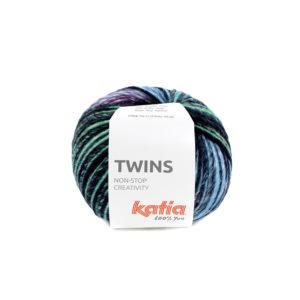 TWINS N°158 de KATIA pelote de 150 g Coloris Multicolore