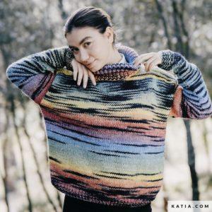 Pull pour Femme au Tricot en «TWINS» de Katia