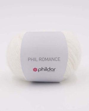 PHIL Romance de Phildar coloris Écru Nouveauté 2020/21
