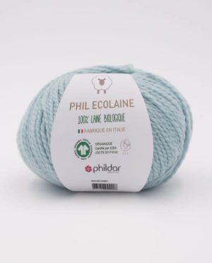 PHIL ECOLAINE de Phildar coloris Amande 100% Laine Biologique