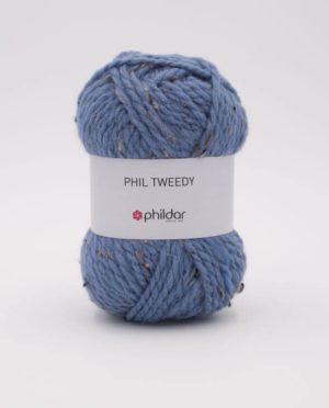 PHIL TWEEDY de Phildar coloris Jeans Nouveauté 2020/21