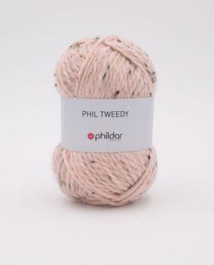 PHIL TWEEDY de Phildar coloris Peau Nouveauté 2020/21