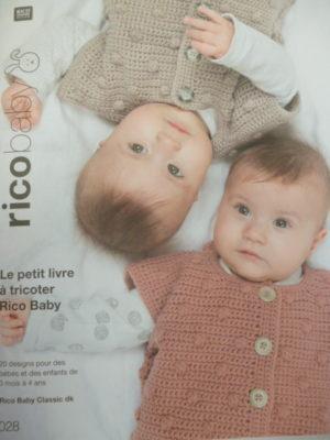 Rico Baby N°28 Layette RICO DESIGN 2020/21