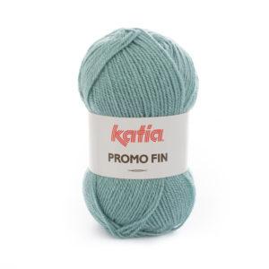 PROMO-FIN N°859 de KATIA pelote 50 g coloris Bleu d'eau