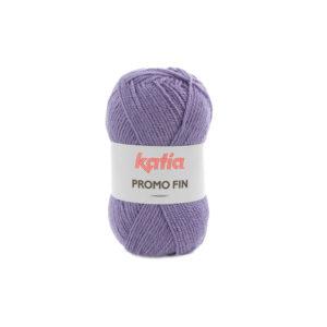 PROMO-FIN N°869 de KATIA pelote 50 g coloris Lilas Bleu