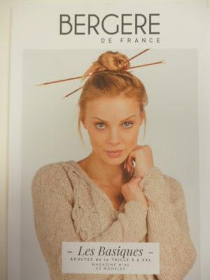 Mag. N°41 «Basiques» de Bergère de France Femme Homme du S au XXL