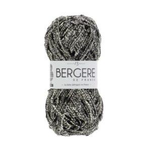 Festive de Bergère de France coloris 10645 Blanc Noir Nouveauté 2021