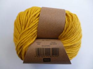 Essentials Organic Cotton Aran N°004 Moutarde 100% Coton Bio de RICO DESIGN