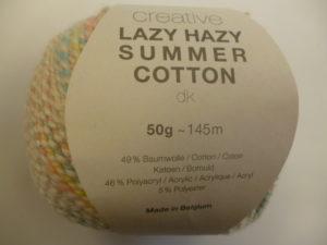 Créative Lazy Hazy Summer Cotton N°001 Pastel de RICO DESIGN