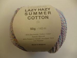 Créative Lazy Hazy Summer Cotton N°012 Lilas Clair de RICO DESIGN