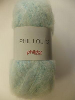 Phil Lolita de Phildar coloris Aqua