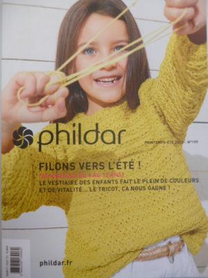 Phildar N°199 «Filons vers l'été» – Printemps-été 2021