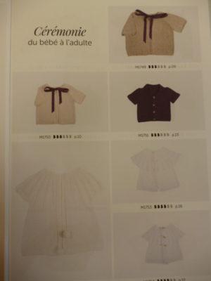 Mag. N°42 «Cérémonies» de Bergère de France du Bébé à l'Adulte