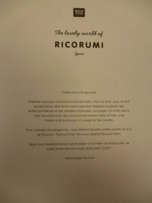 RICORUMI «SPACE» de Rico Design Nouveau Catalogue 2021