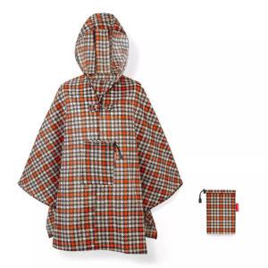 Mini Maxi Poncho «GLENCHECK RED» Reisenthel