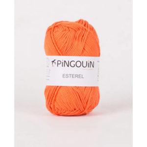 ESTEREL de Pingouin 100% Coton Coloris Orange