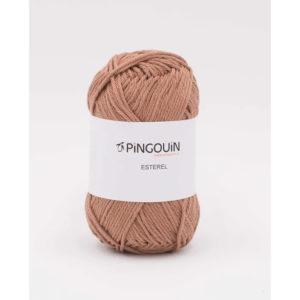 ESTEREL de Pingouin 100% Coton Coloris Noisette