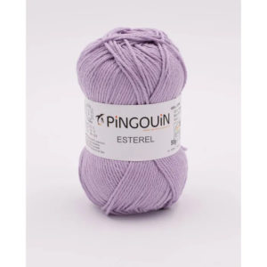 ESTEREL de Pingouin 100% Coton Coloris Lilas Clair