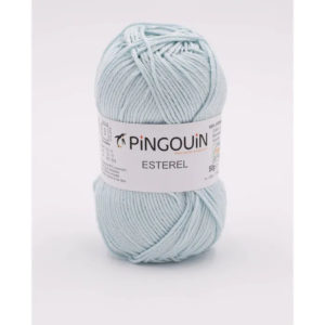 ESTEREL de Pingouin 100% Coton Coloris Aqua