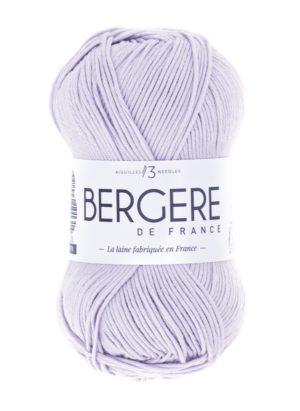 100% Coton Bio de Bergère de France Lilas 10668