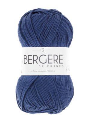 100% Coton Bio de Bergère de France Marin 10676