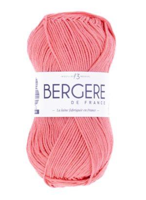 100% Coton Bio de Bergère de France Saumon 10665