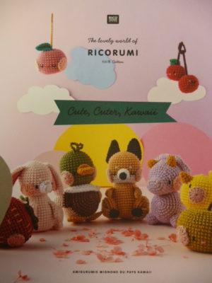 RICORUMI «Cute, Cuter, Kawaii» de Rico Design Nouveau Catalogue 2021/22